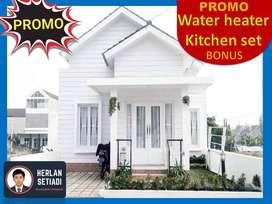 Rumah FREE DESAIN di Cluster Syariah 15mnt upi Setiabudi Lembang Utara