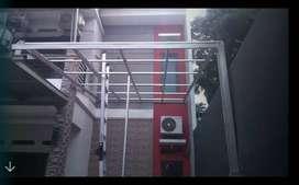 Kanopy  Rangka Baja Ringan Atap Sepandek Harga /M2