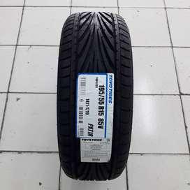 Ban murah Toyo Tires ukuran 195 55 ZR15 Proxes T1R.  Vios Yaris .