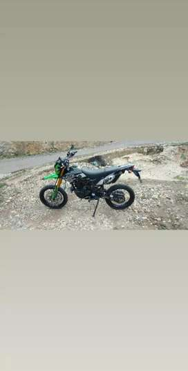 Kawasaki klx-lx 150 cc sangat terawat thn 2018