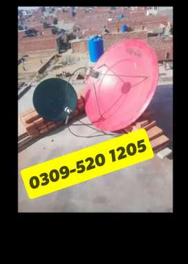ALi New Dish antenna satellite Lahore 0345-360,99:25