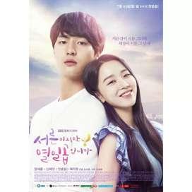 DVD Drama Korea Still 17 Thirty but Seventeen Korean movie Film Kaset