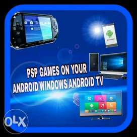 PSP games on Android and PC