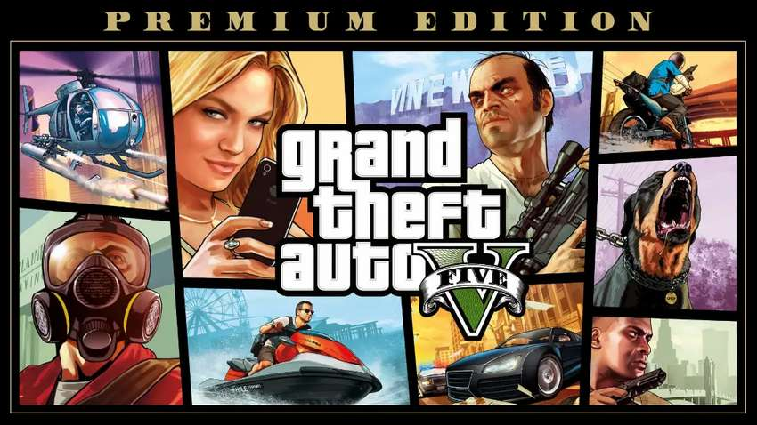 GTA 5 premium edition PC (orignal).