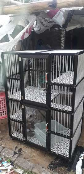 Kandang kucing alumunium high quality