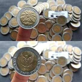 Uang kuno 1000 kelapa sawit