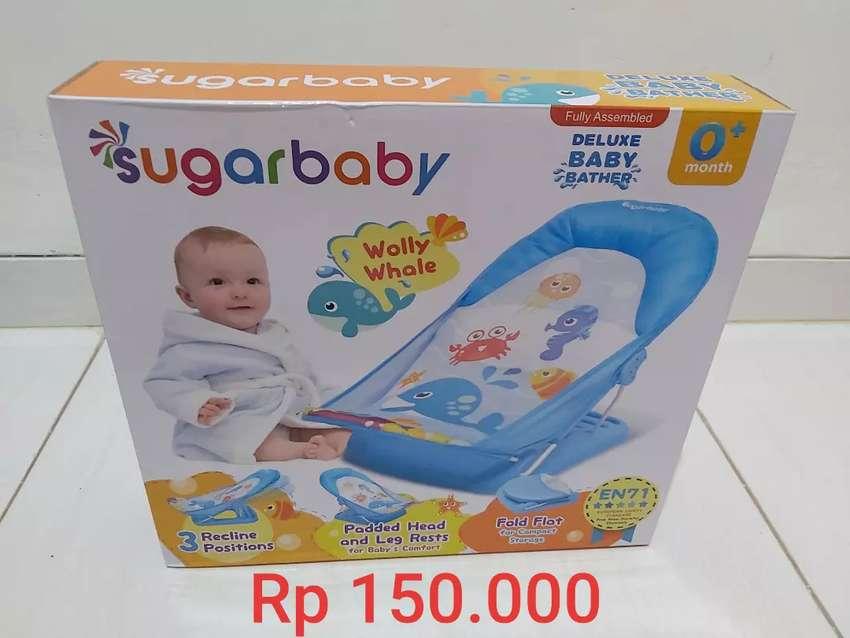 DIJUAL SUGAR BABY DELUXE BABY BATHER - WOLLY WHALE NEW MURAH MERIAH 0