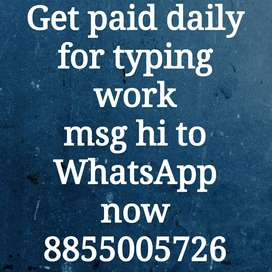 Work from home as a part time/ free time earn Up to 1400Rs weekly