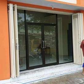 pintu kasa nyamuk,kusen alumunium, pintu kaca, jendela alumunium