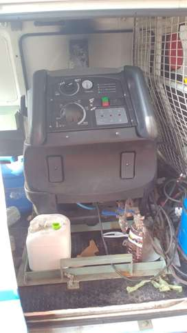 STEAM WASH MACHINE WITH VEHICLE FOR SALE