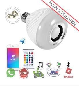 YNL Bohlam LED RGB E27 12W with Bluetooth Speaker