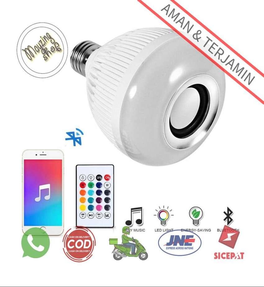 YNL Bohlam LED RGB E27 12W with Bluetooth Speaker 0