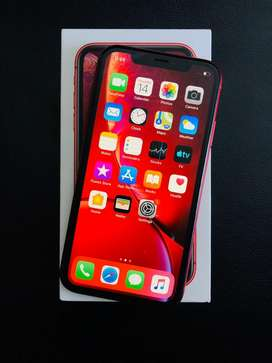 IPHONE XR 128GB RED COLOR 2 MONTH OLD MINT CONDITION