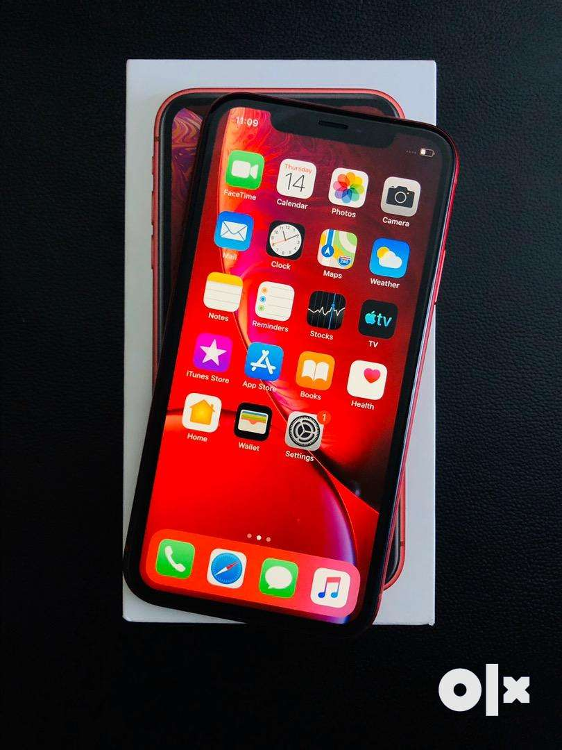 IPHONE XR 128GB RED COLOR 2 MONTH OLD MINT CONDITION 0