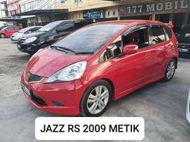 HONDA JAZZ RS METIK 2009 Bisa kredit bsa tukar tambah 777 mobil b.aceh