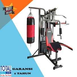 FREE ONGKIR Home Gym 3 Sisi TL 077 + Samsak Total Fitness