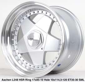 wheel AACHEN L248 HSR R17X85/10 H10X114,3-120 ET35/30 SML