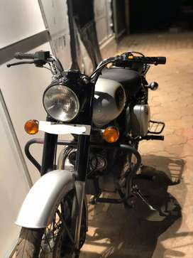 Royal enfield classic 350 with warranty for sale
