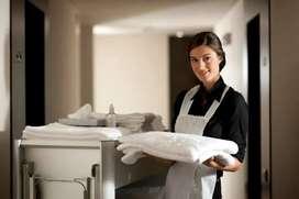 Immediate hiring of Housekeeping attendant