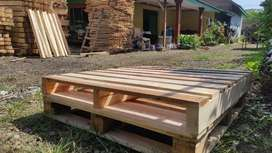 Pallet kayu custom ukuran sesuai pesanan