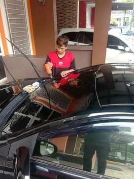 aksesoris pemasangan untuk kaca film mobil dan gedung
