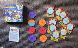 Matematika Papan Pecahan Divisi Alat Bantu Mengajar Pendidikan Mainan