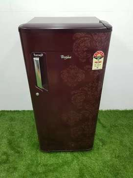 Gently used Whirlpool 190 liters singledoor refrigerator