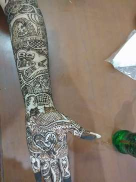 Mehandi application