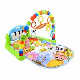 Baby playgym piano kasur play mat piyano musical