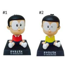 Pajangan Dashboard Mobil Nobita, Boneka Kepala Goyang / Bobble Head -