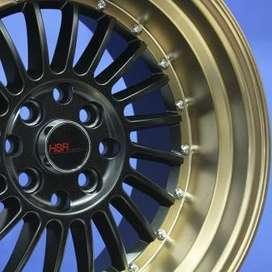 Pelek SC-01 1120 HSR Ring.16 Lebar.8-9 bk/brz