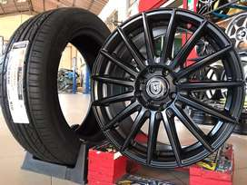 Jual velg mobil Nissan March,Livina Type->MILANO R16X7 H8X100-114.3