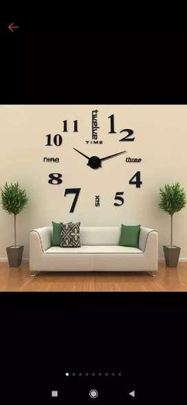 Jam dinding besar giant wall clock quartz