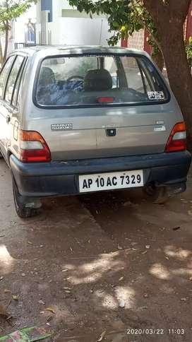 I want to sale my car maruti suzuki 800
