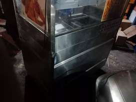 All Steel body Counter with frier