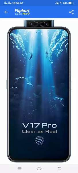 Vivo 17 pro very good new con 15 month old 8 GB 128