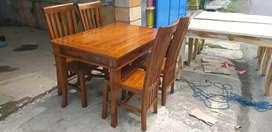 Meja kursi makan balero/meja set