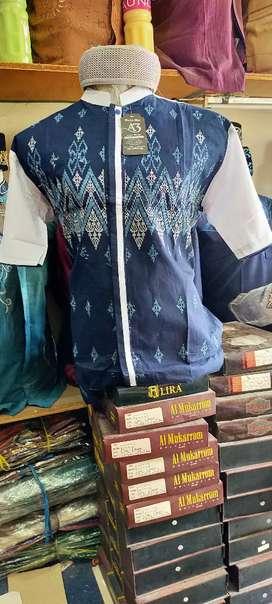 Baju taqwa/koko, legan pendek bordir istimewa exlusif semi kemeja.