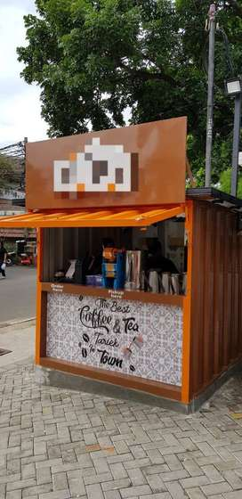 Jual Booth Container Kekinian