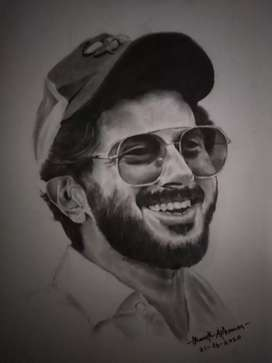4000 rs dq pencil drawing