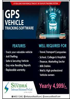 GPS Vehicle Trackers with replaceable warranty at 4000 rs only