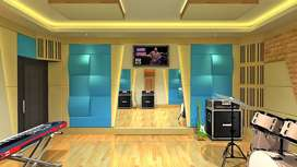 Kontraktor pembuatan peredam suara ruang kedap suara studio musik