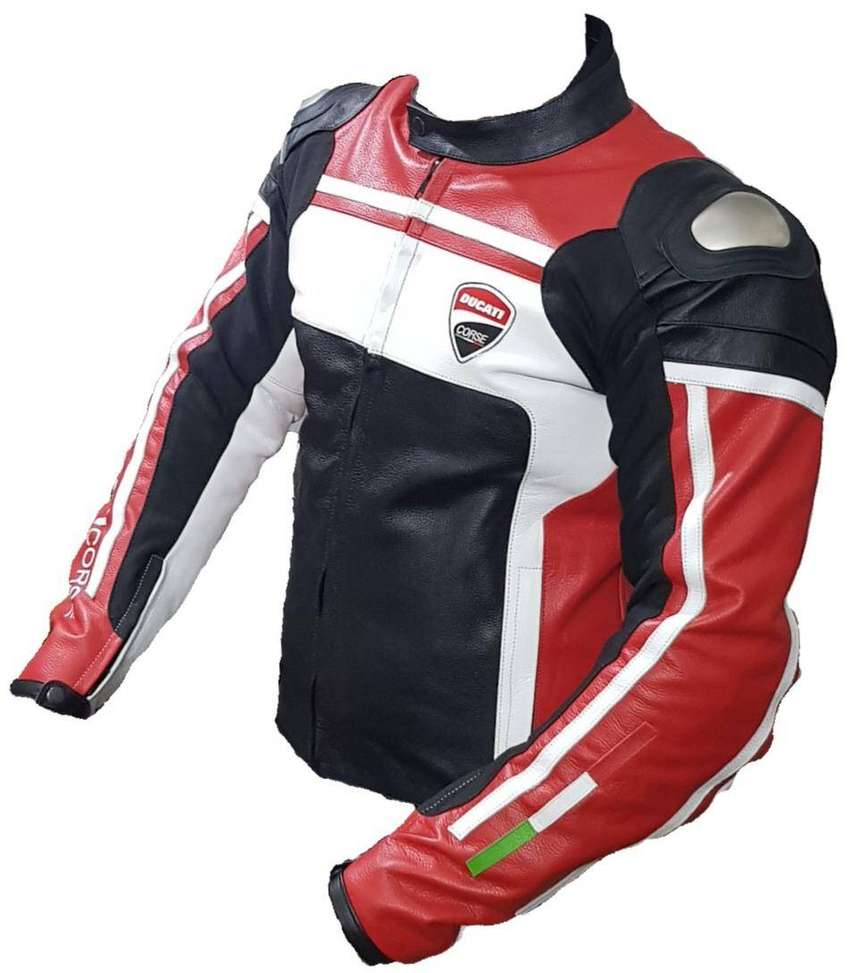 Motorbike Leather Jacket CE Approved 0