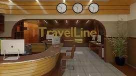 Travel Agancy Office For Rent Gold Point Mall
