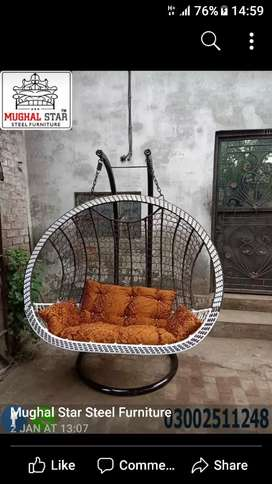 Hanging swing chair double seater