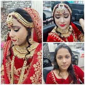 Makeup Artist Bridal makeup , party makeup , sweat proof makeup