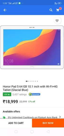 Honour tab 10.1 inch