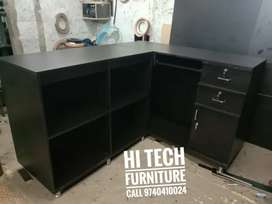 L shape table 5 + 4 good quality best price hi tech furniture