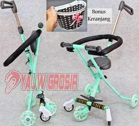 Stroller Exotic Micro Trike bahan FULL METAL