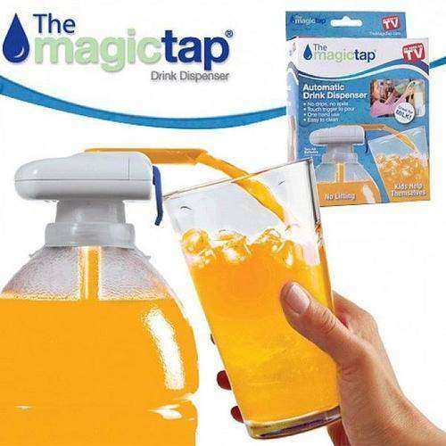 Magic Tap Automatic Drink Dispenser Fits All Type of Bottles 0
